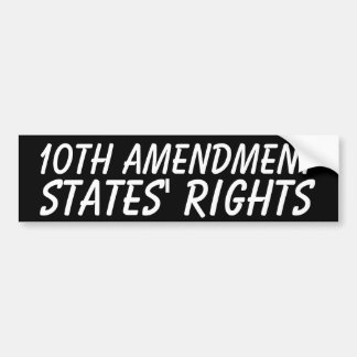 States' Rights Bumper Sticker