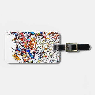 Static Cat Luggage Tag
