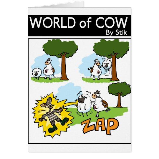 Static Sheep Card