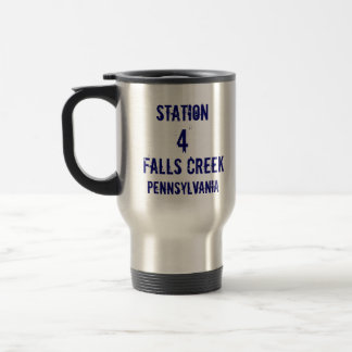 Station, 4, Falls Creek, Pennsylvania, FireRescue Travel Mug
