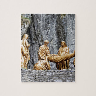 Station at Lourdes Jigsaw Puzzle