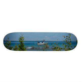 Stationed At Mackinac Skateboard