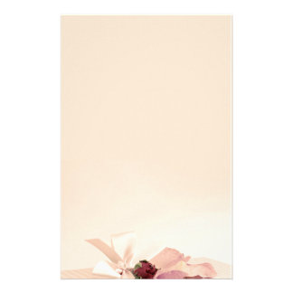 stationery beige rose PAPER