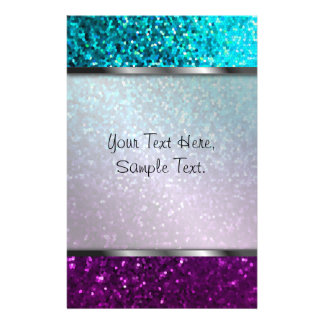 Stationery Mosaic Sparkley Texture
