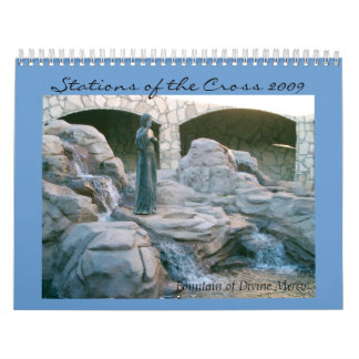 Stations of the Cross Wall Calendar