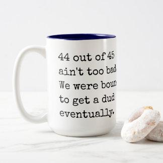 Statistically Speaking Two-Tone Coffee Mug
