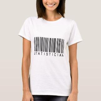 Statistician Bar Code T-Shirt