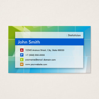 Statistician - Modern Multipurpose Business Card