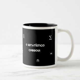 Statistician Two-Tone Coffee Mug