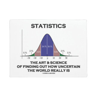 Statistics Art Science Finding Out Uncertain World Doormat