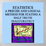 STATISTICS statistician humour Print