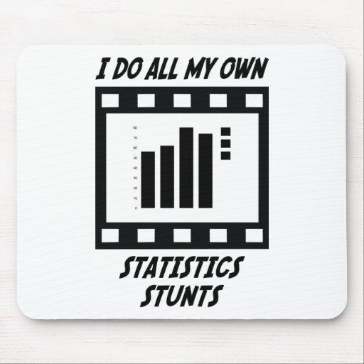 Statistics Stunts Mouse Pads