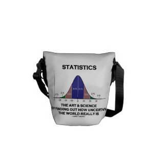 Statistics The Art & Science Of Finding Uncertain Commuter Bag