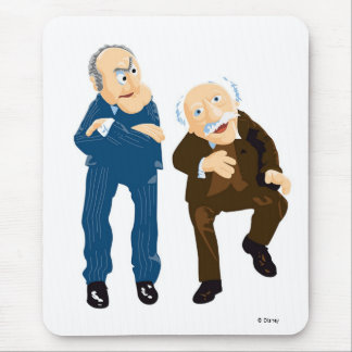 Statler and Waldorf Disney Mouse Pad