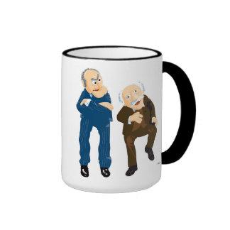 Statler and Waldorf Disney Ringer Mug