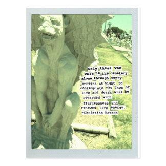 Statuary postcard