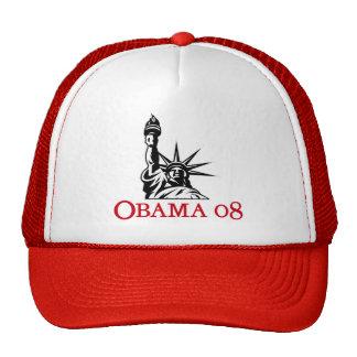 Statue 2008 de Barack Obama de chapeau de liberté Casquette