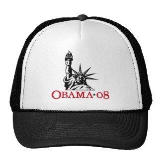 Statue 2008 de Barack Obama de chapeau de liberté Casquette Trucker