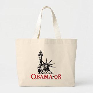 Statue 2008 de Barack Obama de sac fourre-tout à l