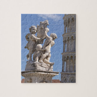 Statue and leaning Tower of Pisa Jigsaw Puzzle