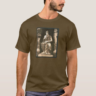 """Statue by Michael Angelo, """"The Seated Moses"""", Rome T-Shirt"""