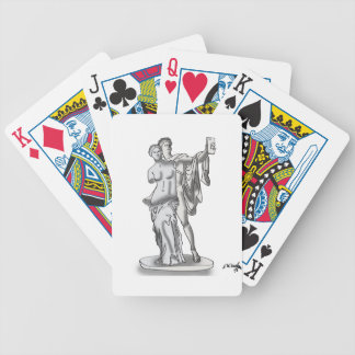 Statue Cartoon 9417 Bicycle Playing Cards