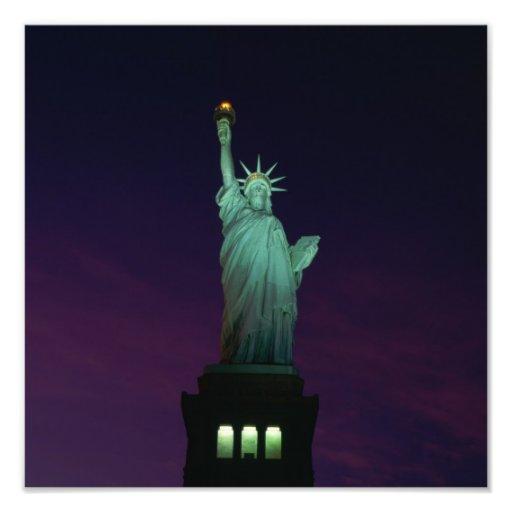 Statue de la liberté, New York, Etats-Unis 7 Photos D'art