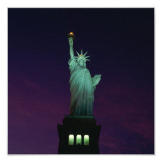 Statue de la liberté, New York, Etats-Unis 7 Photo D'art