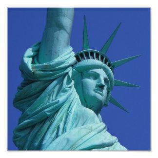 Statue de la liberté, New York, Etats-Unis 9 Impression Photo