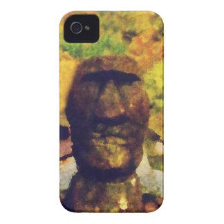 Statue de tête d'île de Pâques Coque Case-Mate iPhone 4