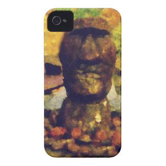 Statue de tête d'île de Pâques Coques iPhone 4 Case-Mate