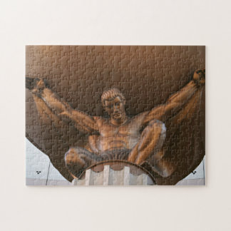statue in Fertile valleys Hotel Jigsaw Puzzle
