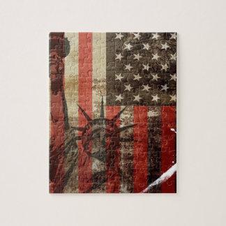 Statue Liberty USA Jigsaw Puzzle