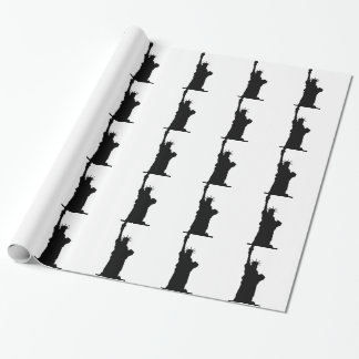 statue-liberty wrapping paper