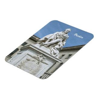 Statue of Alexander von Humboldt in Berlin Rectangular Photo Magnet