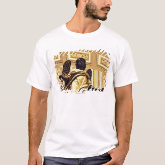 Statue of angel in gold T-Shirt