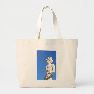 Statue of Apollo (Neptune) Large Tote Bag