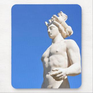 Statue of Apollo (Neptune) Mouse Pad