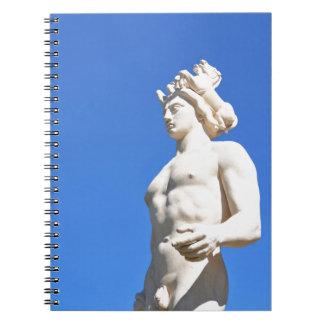 Statue of Apollo (Neptune) Notebook
