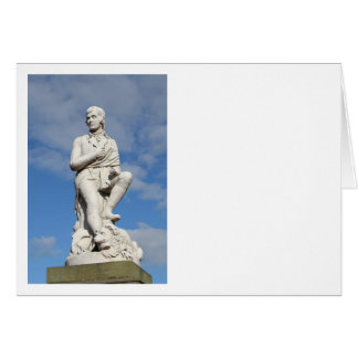 Statue of Burns Card
