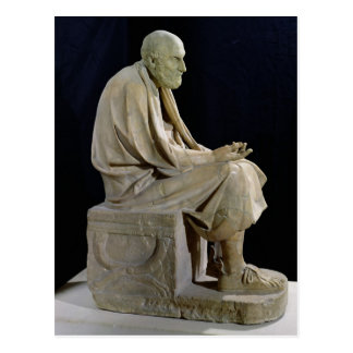 Statue of Chrysippus  the Greek philosopher Postcard
