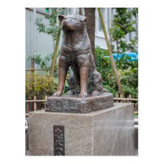 Statue of Chuken Hachiko Postcard