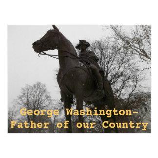 Statue of George Washington Morristown New Jersey Postcard