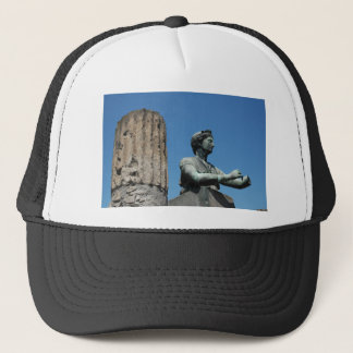 Statue of goddess Diana in Pompeii Trucker Hat