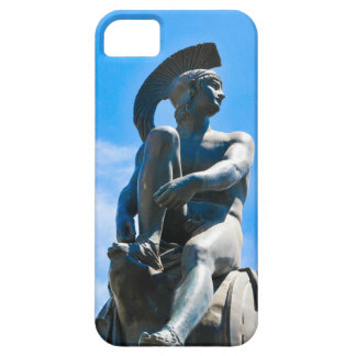 Statue of Greek soldier in Athens, Greece iPhone 5 Cover