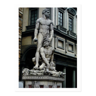 Statue of Hercules and Cacus, Florence Postcard