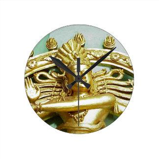 Statue of Hindu god Shiva Clocks
