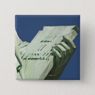 Statue of Liberty 2 2 Inch Square Button