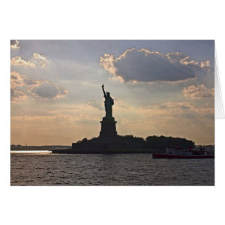 Statue of Liberty (2) Card