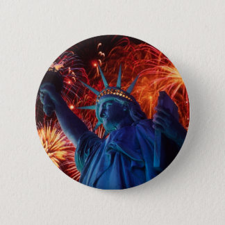 Statue of Liberty 2 Inch Round Button